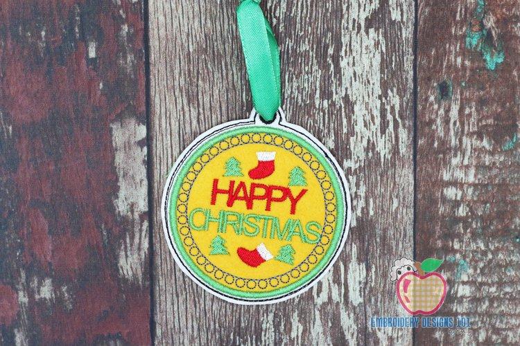christmas Socks In The Hoop Ornament