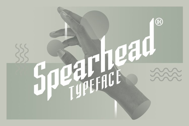 Spearhead Typeface | Font example image 1