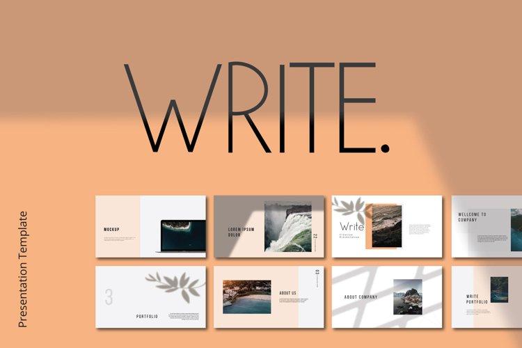 Write Keynote example image 1