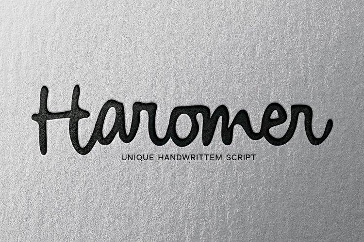 Haromer example image 1