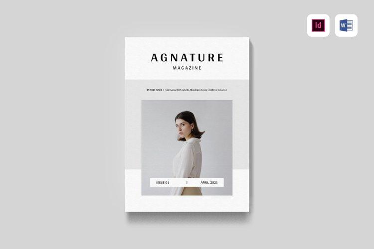 Magazine | MS Word & Indesign example image 1