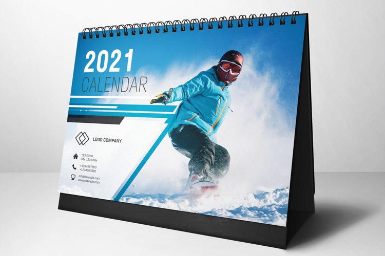 2021 Desk Calendar example image 1