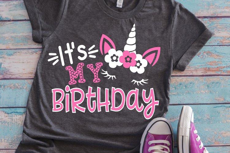 Unicorn birthday shirt svg , Girls svg , Kids svg , UNICORN