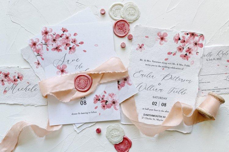 Pink Cherry Blossom Wedding Suite