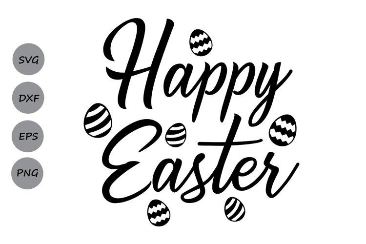 1st Easter Happy easter Eggs svg Svg Easter eggs Cut File Instant Download Bunny Svg Easter Svg Easter Cutting files for cricut