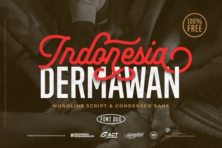 Indonesia Dermawan Font Duo