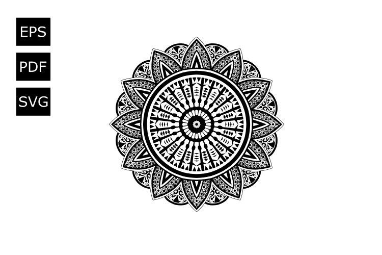 Mandala Vector 2 example image 1