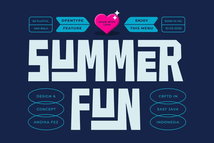 SUMMER FUN FONT - Free Font Of The Week