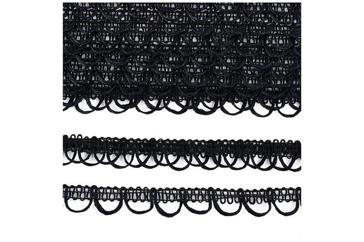 Photo of elastic lace decorative finishing braid