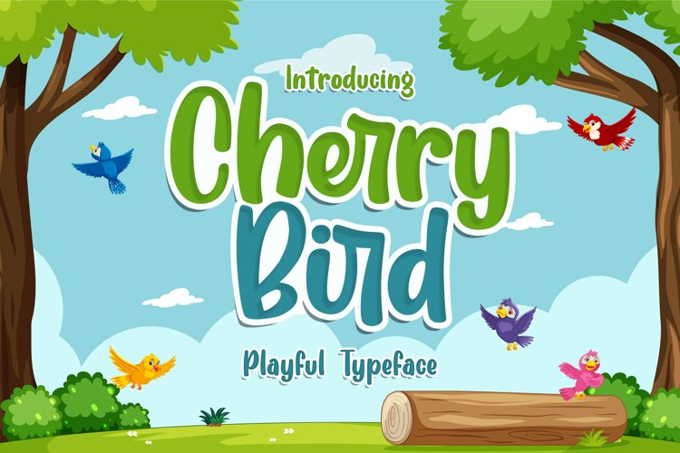 Cherry Bird example image 1