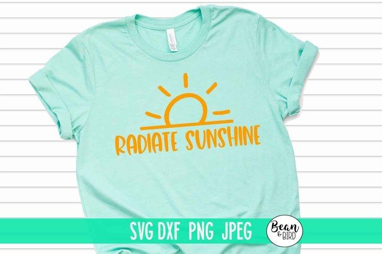 Radiate Sunshine-Summer SVG