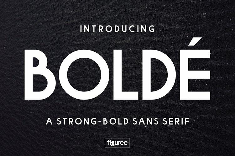 Bolde example image 1