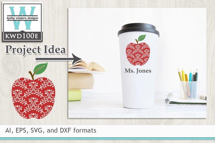 School SVG - Teachers Apple