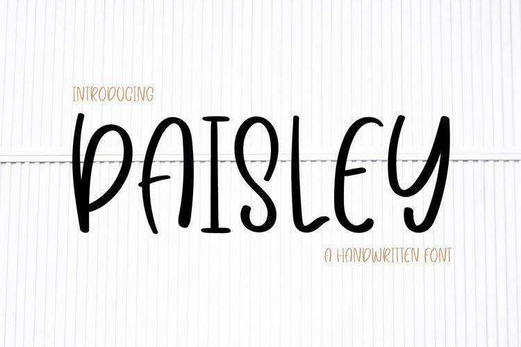 Paisley example image 1