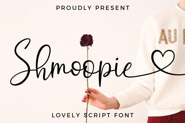 Shmoopie Script example image 1