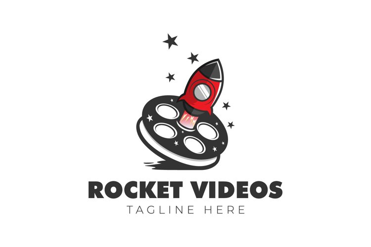 Rocket videos logo production films