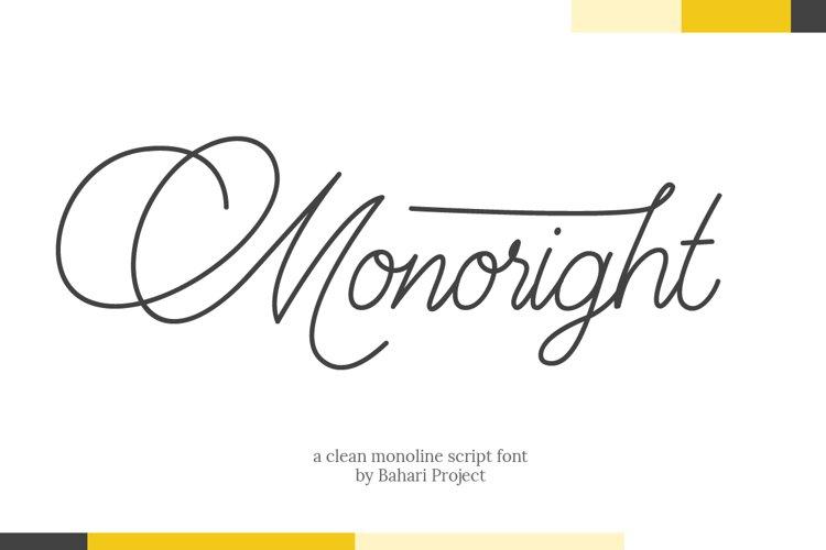 Monoright example image 1