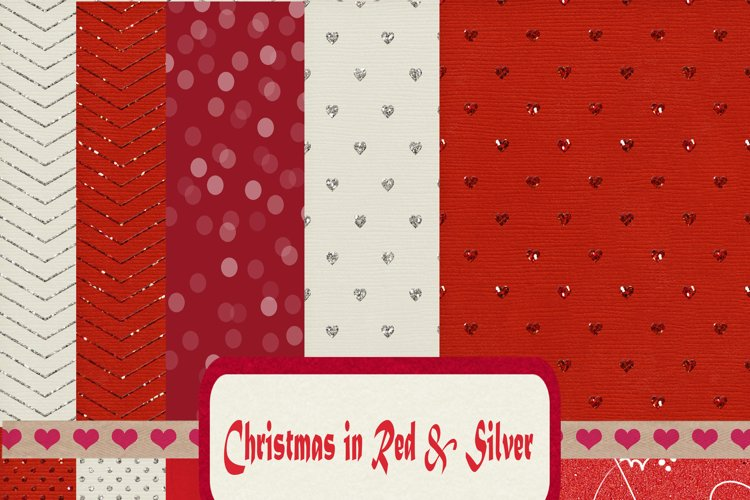 Christmas in Red & Silver