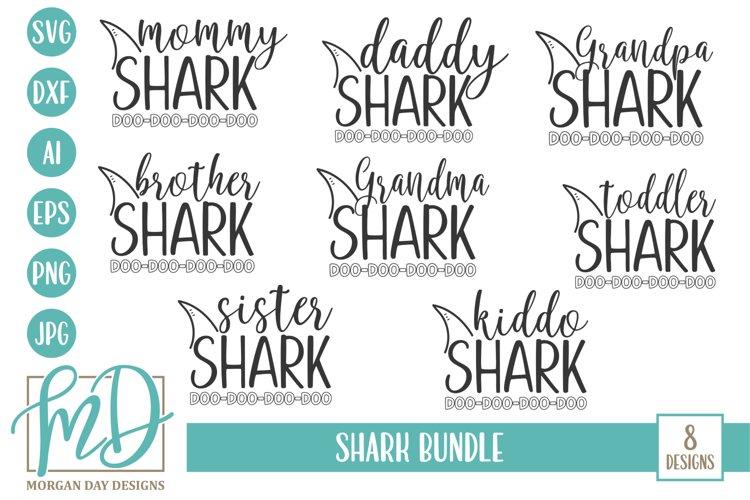 Shark Family - Shark Bundle SVG