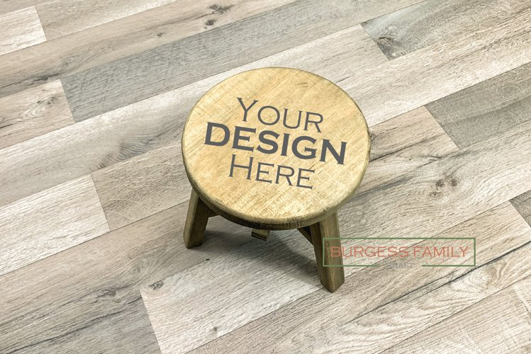 Time out stool Vol II | Craft mock up
