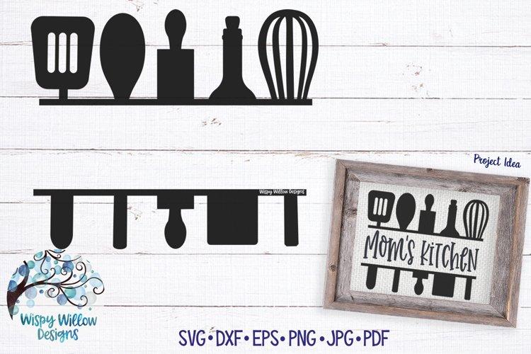 Kitchen Sign SVG | Mom Grandma Gift SVG Cut File
