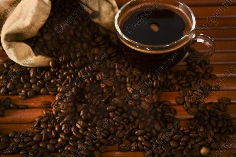 coffee, grains, taste, tempera, cezve, cup, drink, example image 1