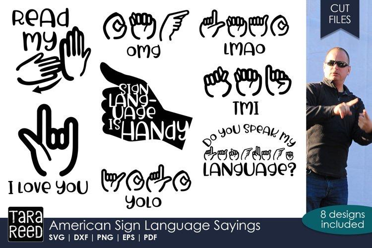 American Sign Language Humor Bundle