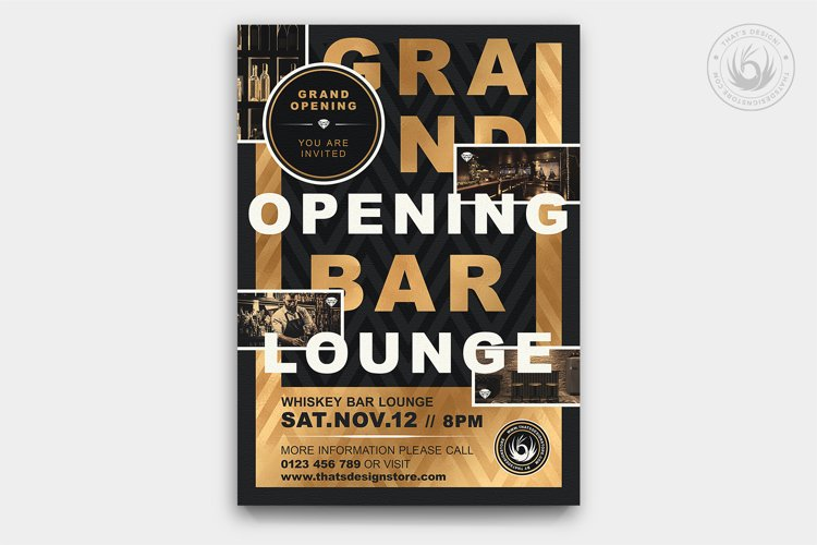 Grand Opening Flyer Template V4
