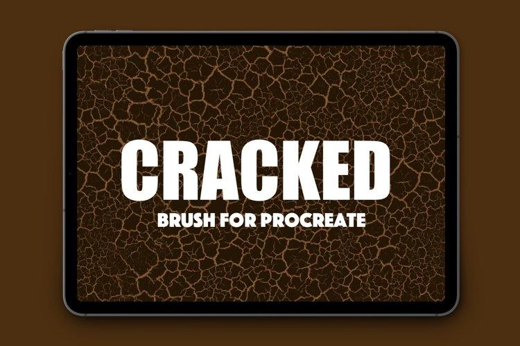 Procreate Cracked Texture Brush example image 1