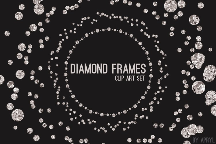 Diamond Frames Round Jewels