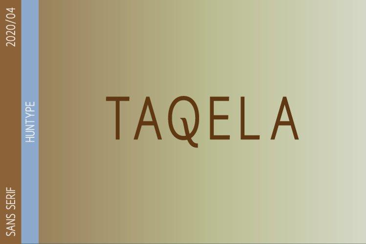 Taqela Sans Serif example image 1
