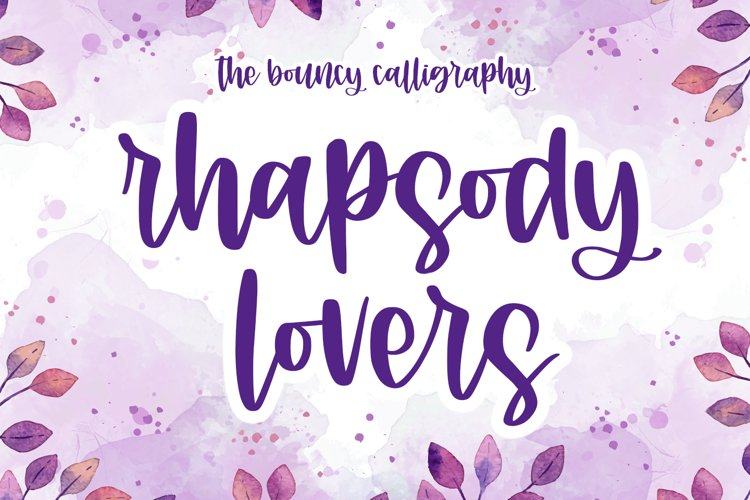 Rhapsody Lovers example image 1