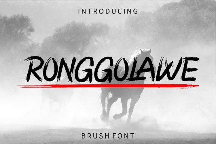 RONGGOLAWE example image 1