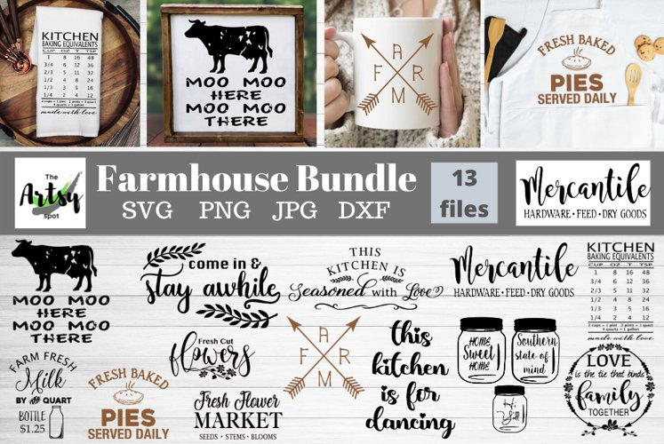 Farmhouse Bundle, Farm svg Bundle, Kitchen quotes svg bundle