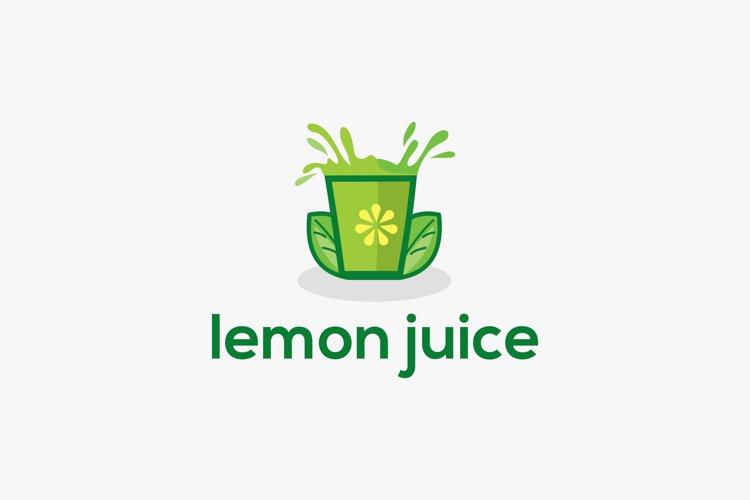 Juice logo design premium example image 1