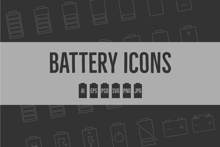 Battery Level Icons example