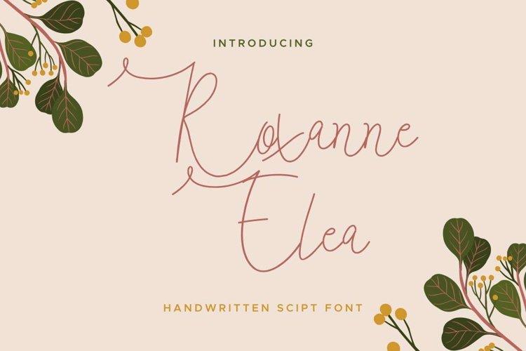 Roxanne Elea example image 1