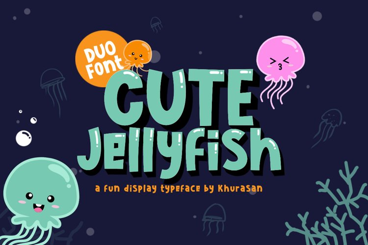 Cute Jellyfish example image 1