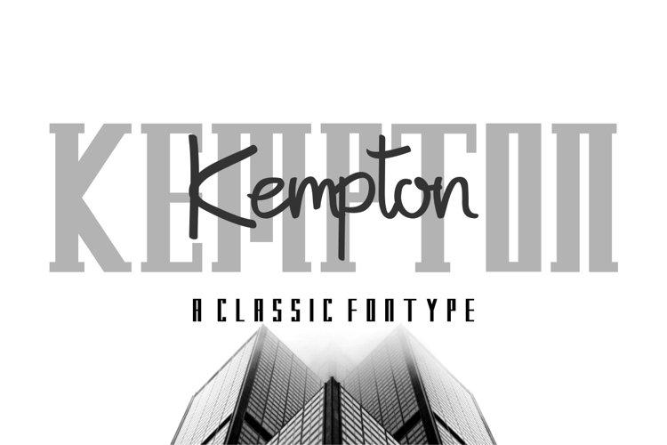 Kempton example image 1