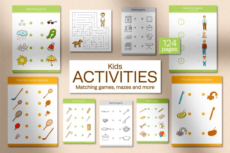 Kids Activities. Educational Games example image 1