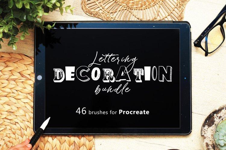 Vintage Lettering Decoration creator