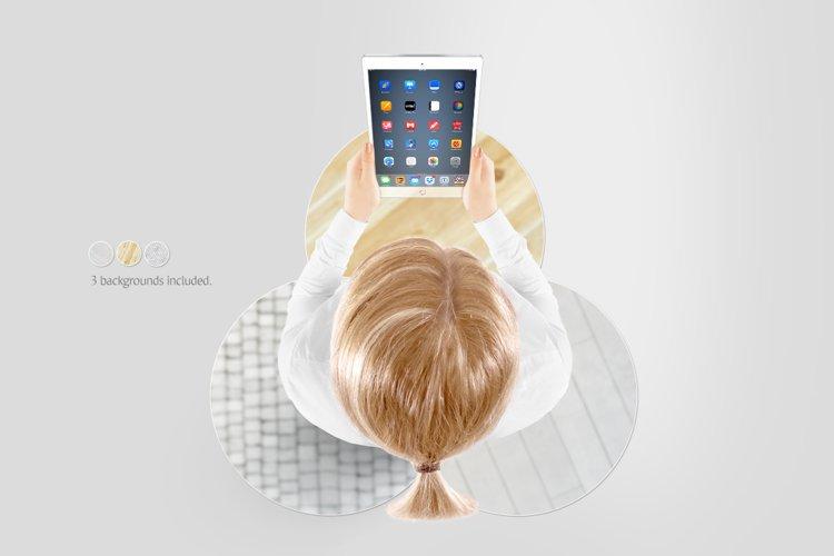Tablet Mockup - Free Design of The Week Design3