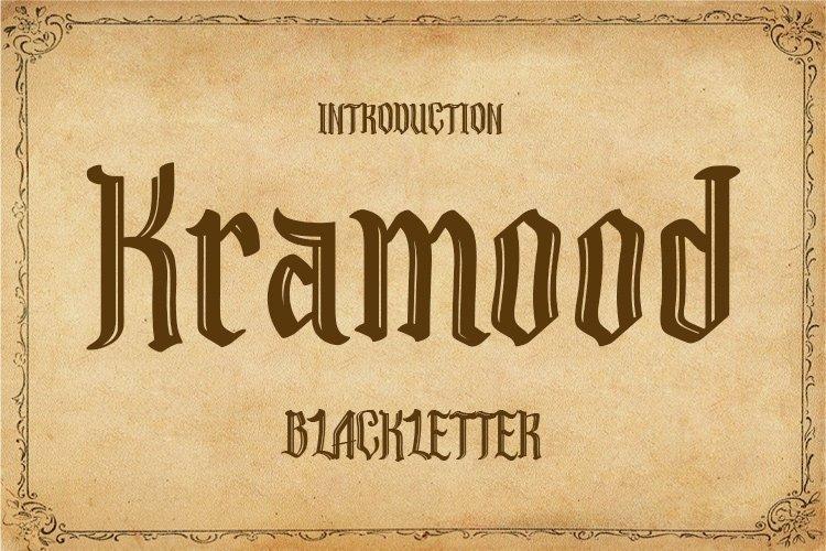 Kramood || Black Letter example image 1