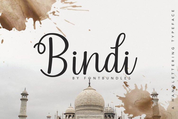 Bindi example image 1