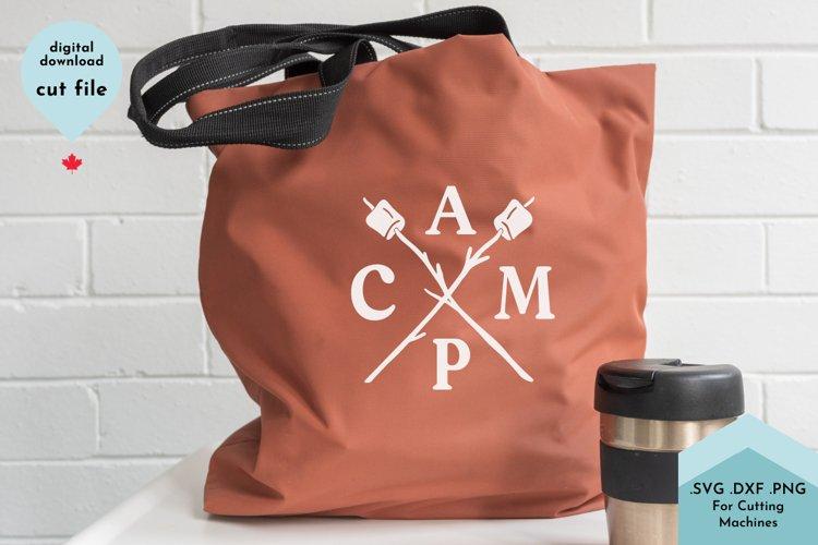 Camp, Marshmallows, Summer Design