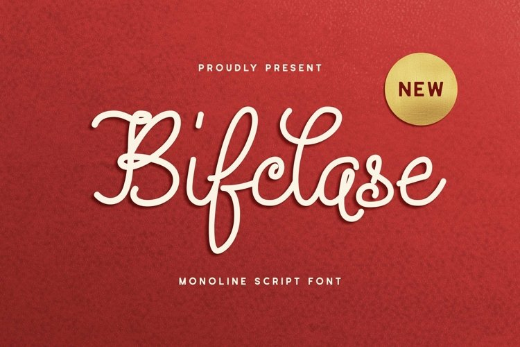 Web Font Bifclase example image 1