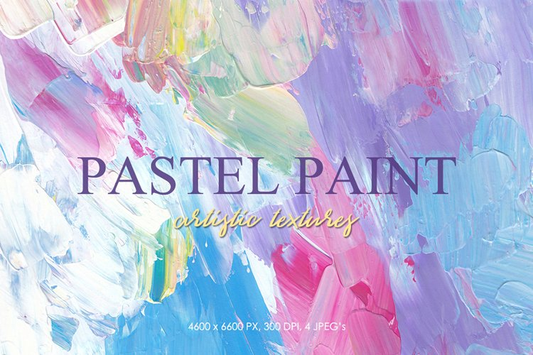 Abstract Backgrounds - Pastel Artistic Textures, Modern art