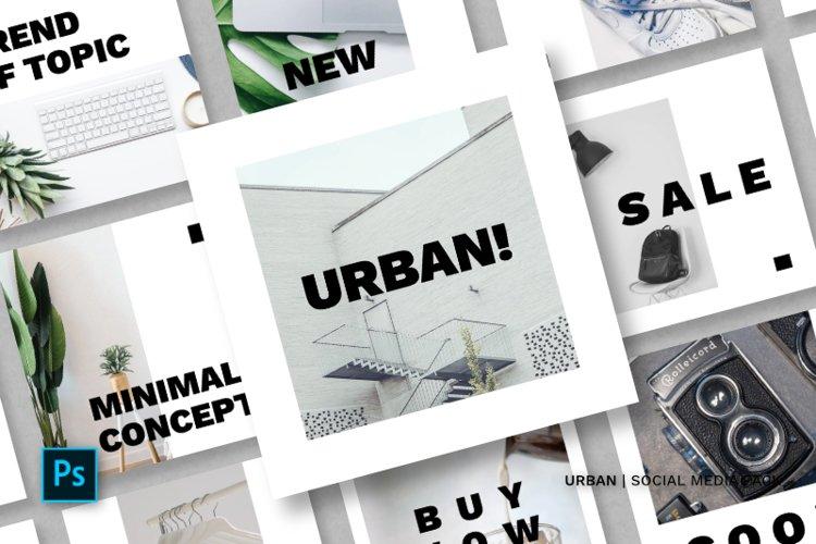 Urban Social Media Pack example image 1