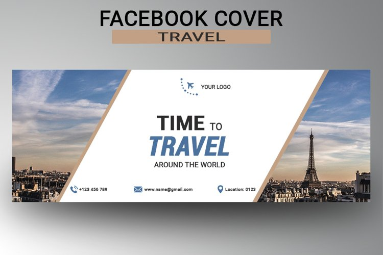 Travel Facebook Cover example image 1