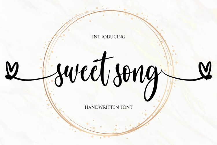 sweet song example image 1